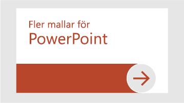 Fler mallar för PowerPoint