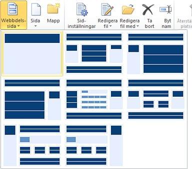 Lägga till sidor i SharePoint Designer 2010