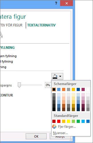 Fyllningsfärg