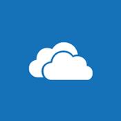 Panelbild av ett moln som symboliserar OneDrive för företag och personliga webbplatser