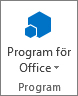Program för Office-knappen