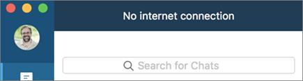 Ta reda på när du är offline