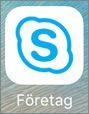 Skype för företag för iOS