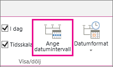 MT06 - Ange datumintervall