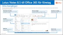 Miniatyr för guide om konvertering från IBM Lotus Notes till Office 365