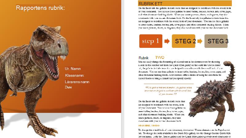 Illustration av omslag till en mall för 3D-modell