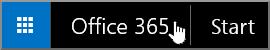 Knapp för att komma till startsidan för Office 365