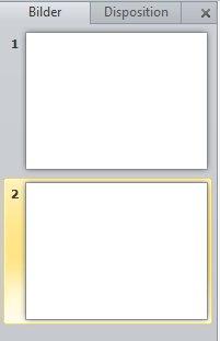 Fönstret med flikarna Disposition och Bild