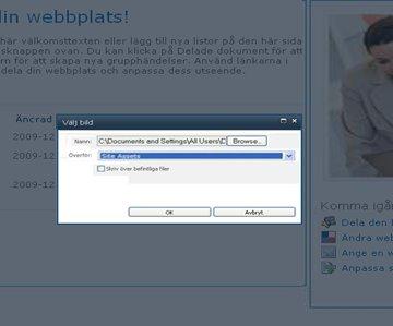 Lägga till en bild på en webbsida