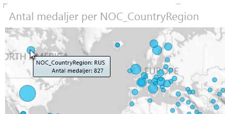 Hovra över data Power View-kartor för mer information