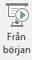 Den här knappen startar ett bildspel som börjar på den första bilden i presentationen.