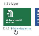Förhandsgranska bifogade Office-filer i Outlook Web App