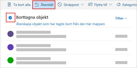Dialogrutan Ta bort Outlook.com