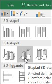 Staplad 3D-stapel