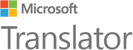 Logotyp för Microsoft Translator