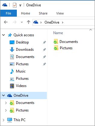 OneDrive i Utforskaren