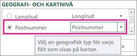 Postnummer-kartor till postnummer