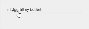 Lägg till ny bucket