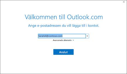 Välkommen till Outlook