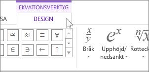 Ekvationsverktyg