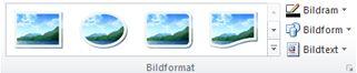 Gruppen Bildstilar på fliken Bildverktyg i Publisher 2010