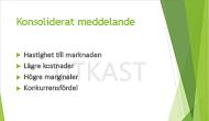 """Exempel på en textvattenstämpel, """"UTKAST"""", som används som bakgrund i en PowerPoint-bild"""