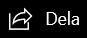 Dela-ikonen i huvudnavigeringsfältet.
