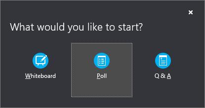 Omröstningsknapp