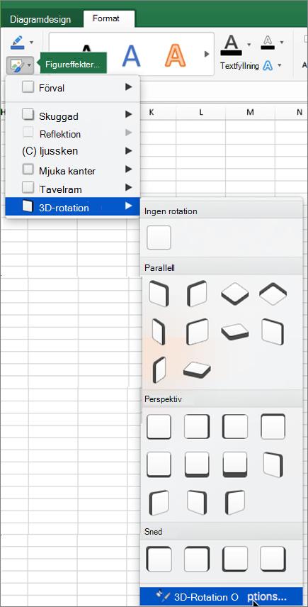 Alternativ för 3D-rotation