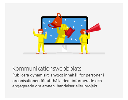 SharePoint Office 365 – Kommunikationswebbplats