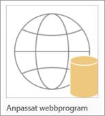 Ikon för anpassad Access-webbapp
