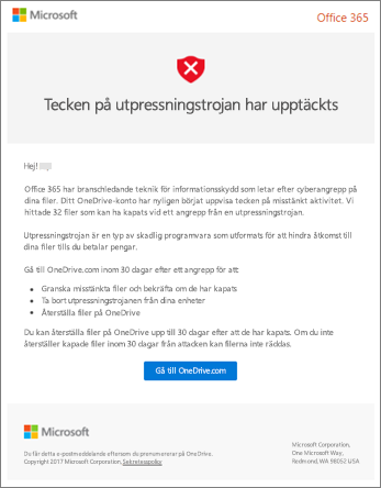 Skärm bild av undersöknings tjänsten för undersöknings program från Microsoft