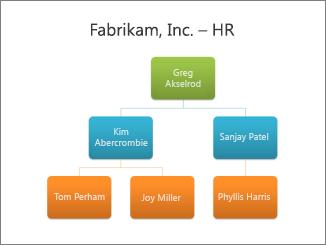 Organisationsschema