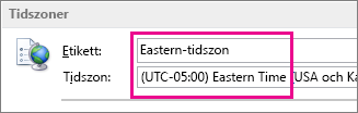 Eastern-tidszon