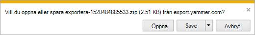ZIP-filen med admin, användare och nätverksfiler