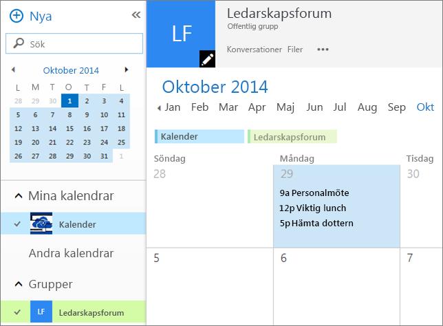 Gruppkalender