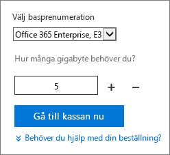 Ändra antalet användarlicenser för ett tillägg.