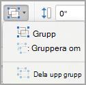 Gruppera objekt