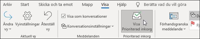 Visa Prioriterad inkorg