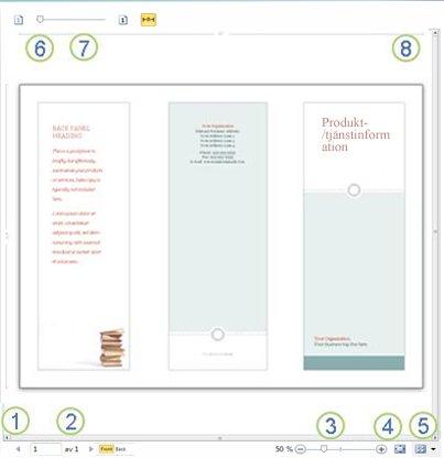 Förhandsgranska i Publisher 2010