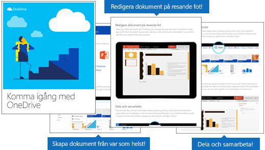 E-boken Komma igång med OneDrive
