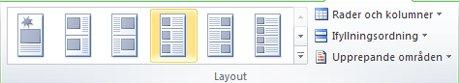 Layoutalternativ för katalogkoppling