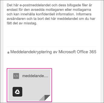 Visningsprogram för OME med Gmail 1