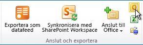Anslut till Outlook-kommando