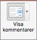 Välj Visa kommentarer
