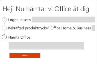 Granska din Office-produkt