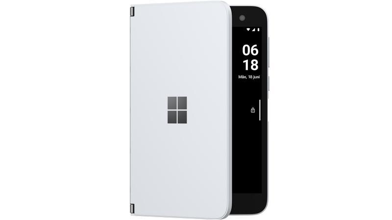 Gransknings läge i Surface Duo