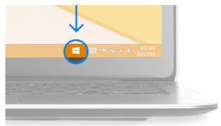 Använda Skaffa Windows 10-appen för att kontrollera om du kan gå till Windows 10