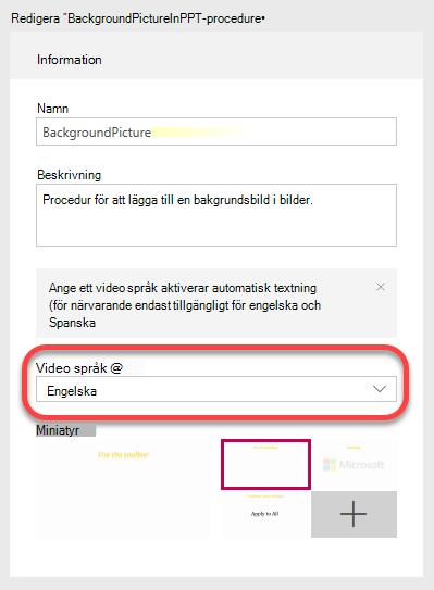Under information anger du det språk som Video