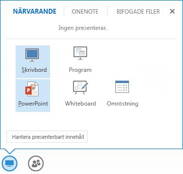 Dela en PowerPoint-presentation
